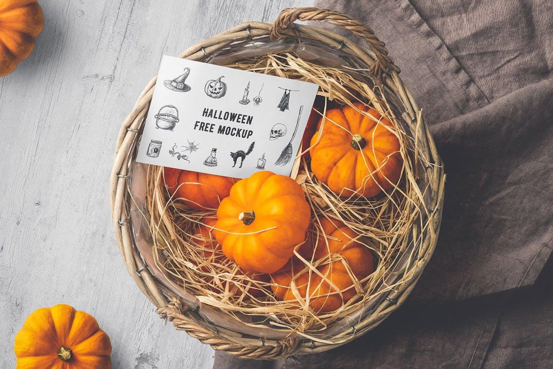 Halloween Free Mockup
