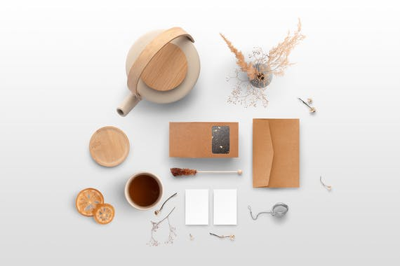 Hotleaf – Teahouse Branding Mockup Kit