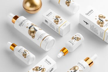 Serena – Cosmetics Branding Mockups