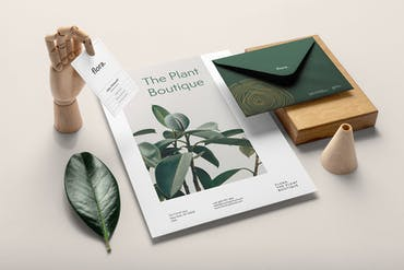Flora Branding Mockup