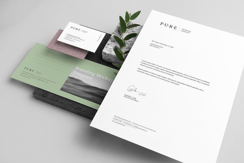 Pure Branding Mockup Vol. 1