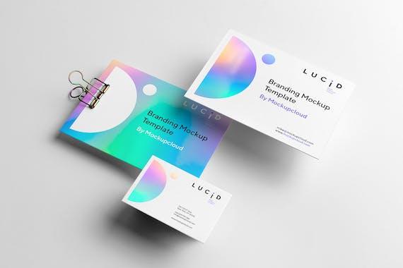 Lucid Branding Mockup
