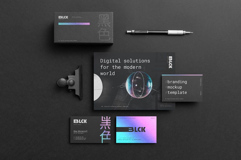 Blck Branding Mockup