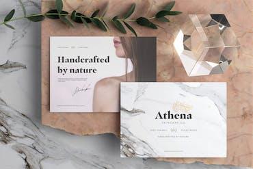 Athena Branding Mockup