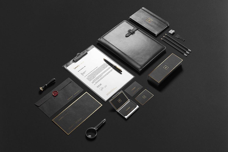 Premium Stationery Branding Mockup