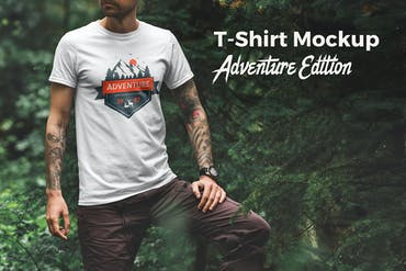 T-Shirt Mockup Adventure Edition