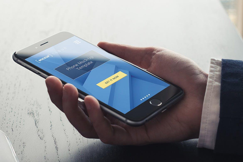 Smartphone Mockup / Real Environment