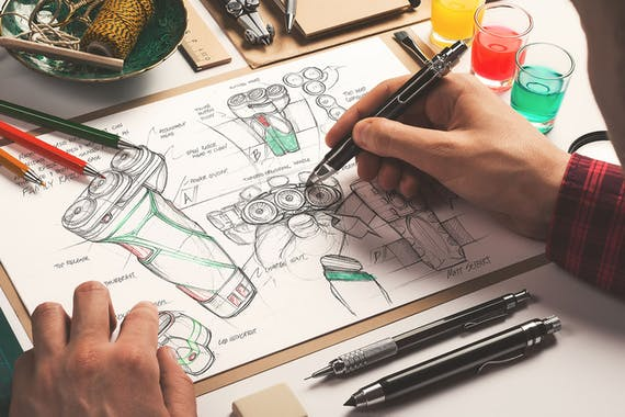 Hand Drawn Mockup Artists Edition