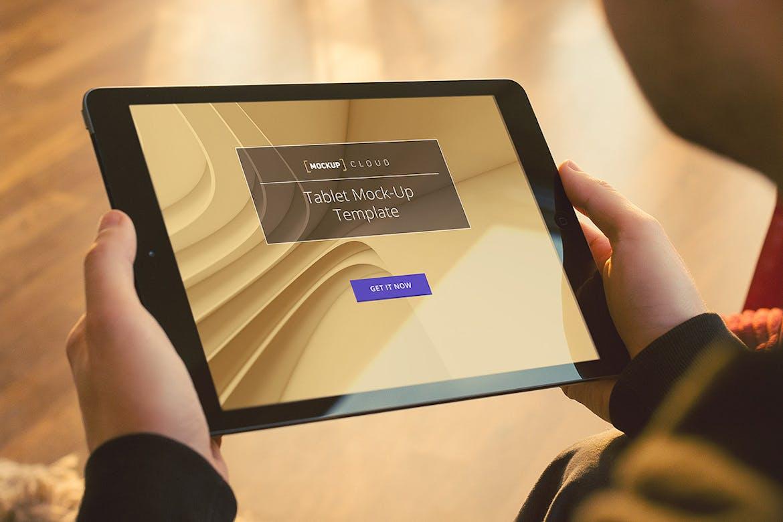 Tablet Mockup / Real Environment