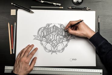 Hand Drawn Mockup Set