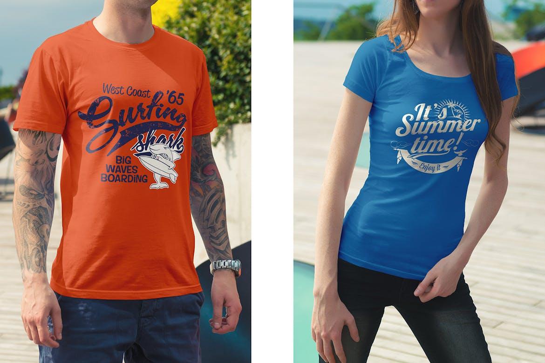 T-Shirt Mockup / Urban Edition