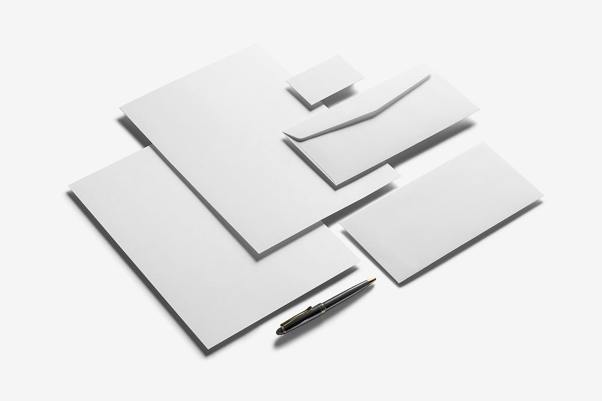 Corporate Stationery Branding Mockup