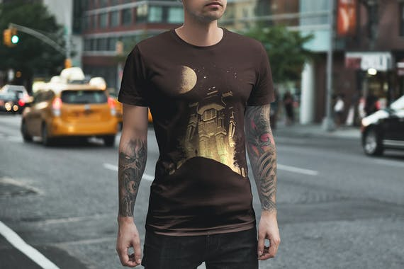T-Shirt Mockup / Urban Edition Vol. 2