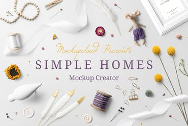 Simple Homes Mockup Creator