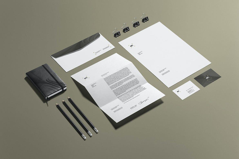 Business Stationery Branding Mockup