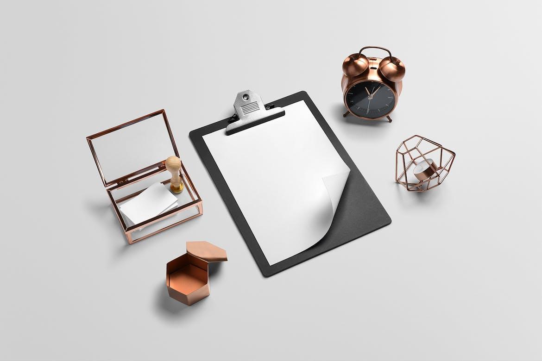 Isometric Branding Mockup Free Scene