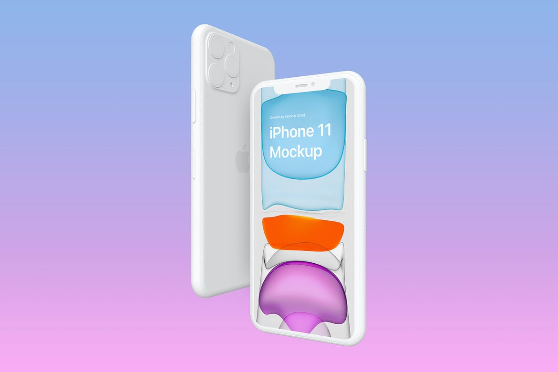 iPhone 11 Pro Max Free Mockup