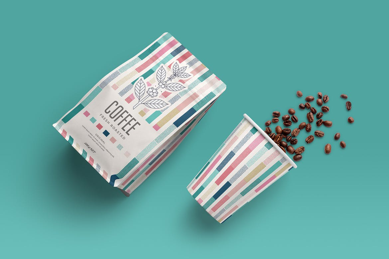 Coffee Packaging Free Mockup