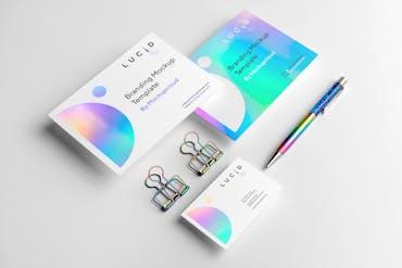Lucid - Free Branding Mockup