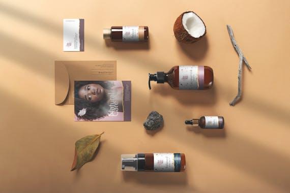 Natura – Cosmetics Branding Mockups