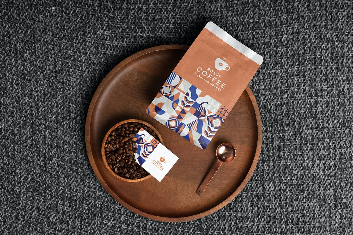 Roast – Free Coffee Packaging Mockup