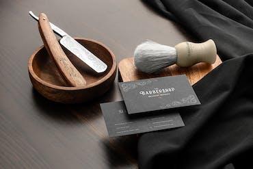 Barbershop Branding Mockups