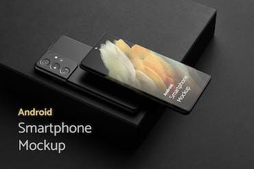 Android Smartphone Mockups Vol. 2